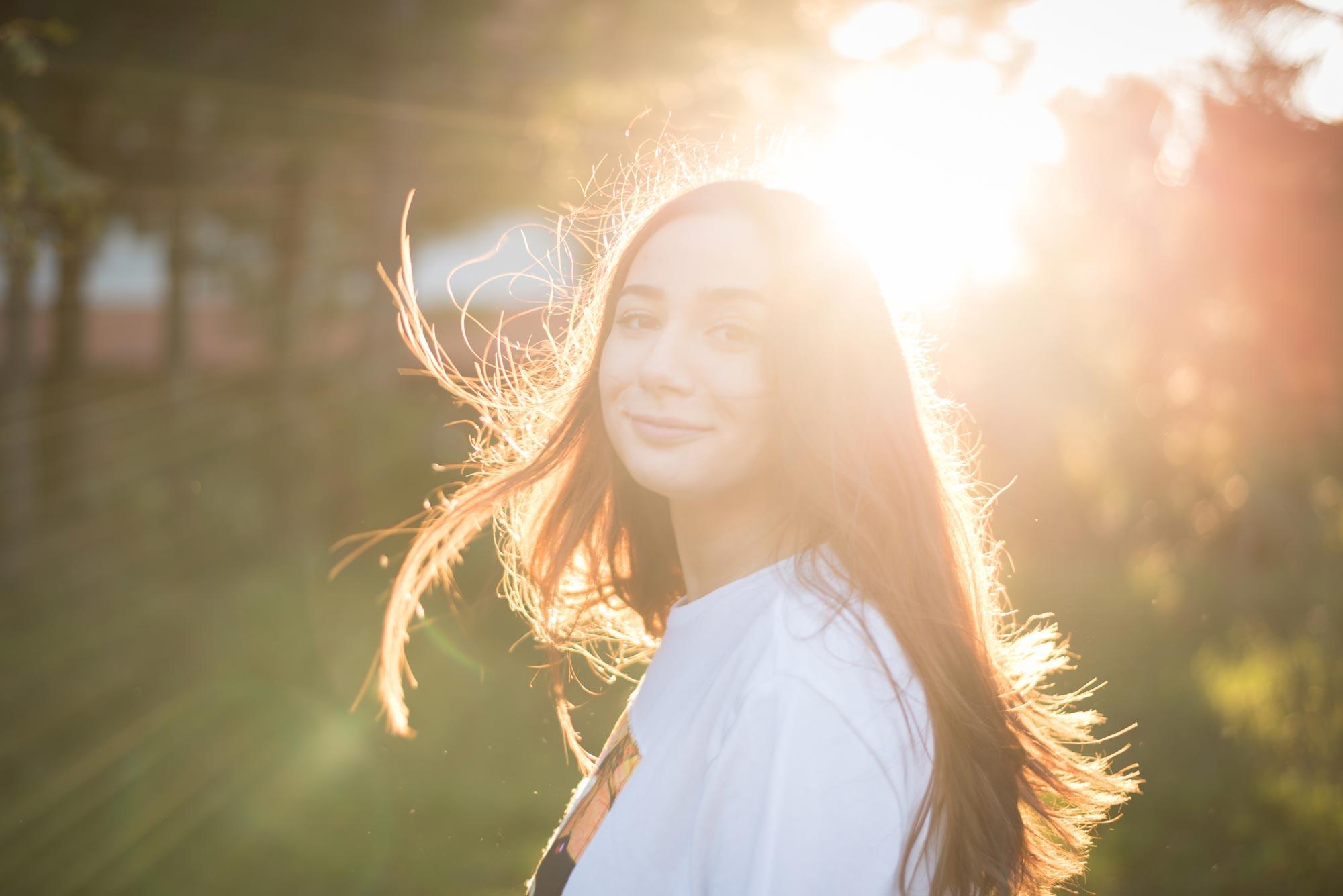 La leggerezza: un po' di sole nel cuore
